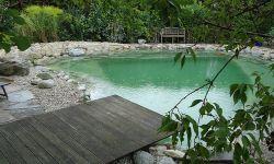 durch die Filtertechnik von Teich & Co wird das Wasser immer klarer